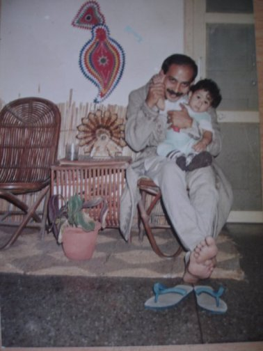 Papa and me! :)